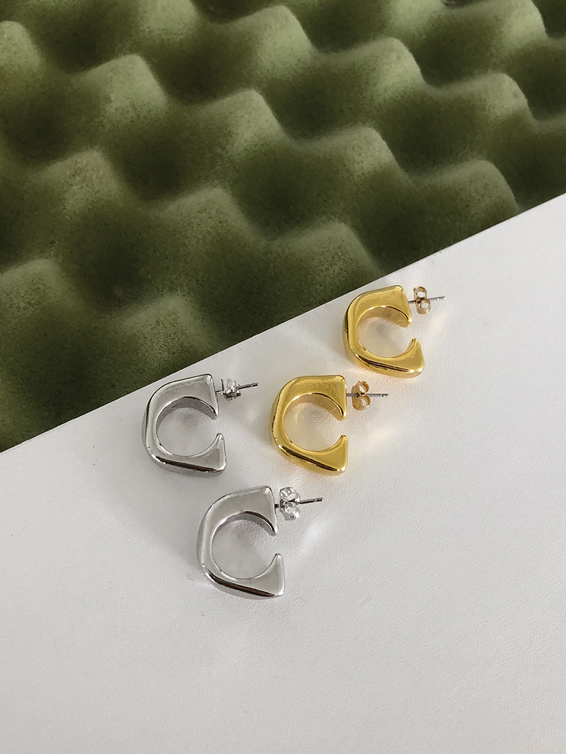 Bianco Simple Earrings-earring
