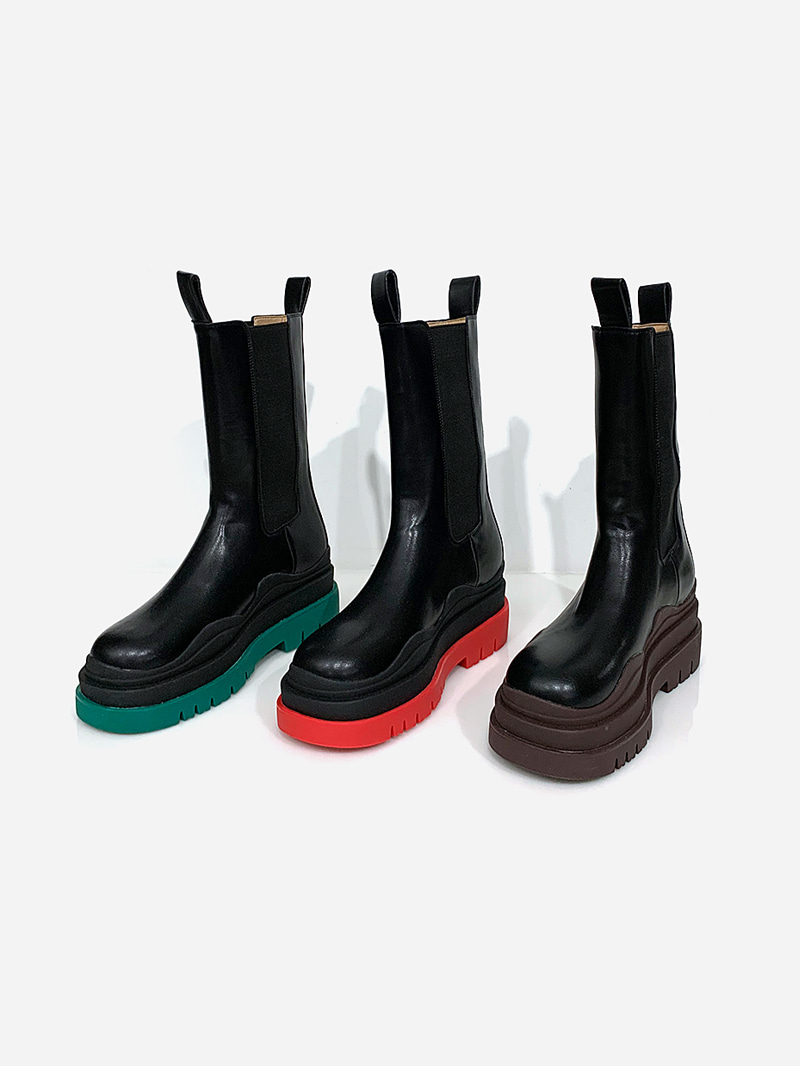 BT Color Full Heel Boots-sh