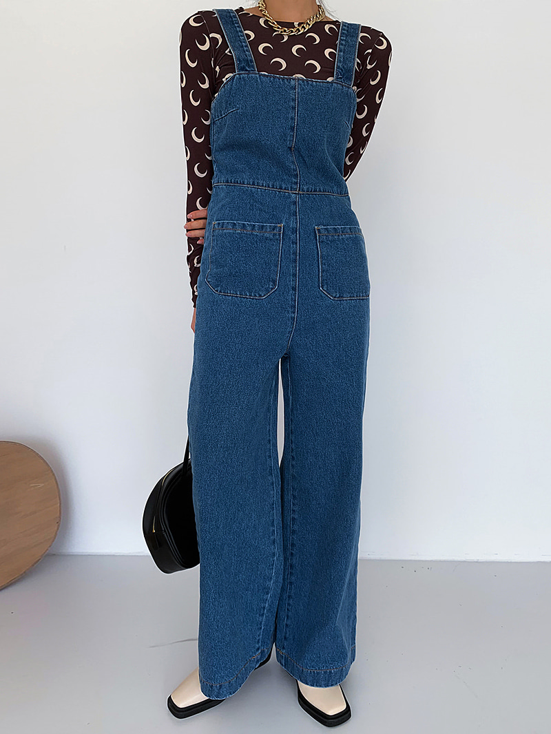 Autumn Overall Denim-pt (Denim S same day delivery)