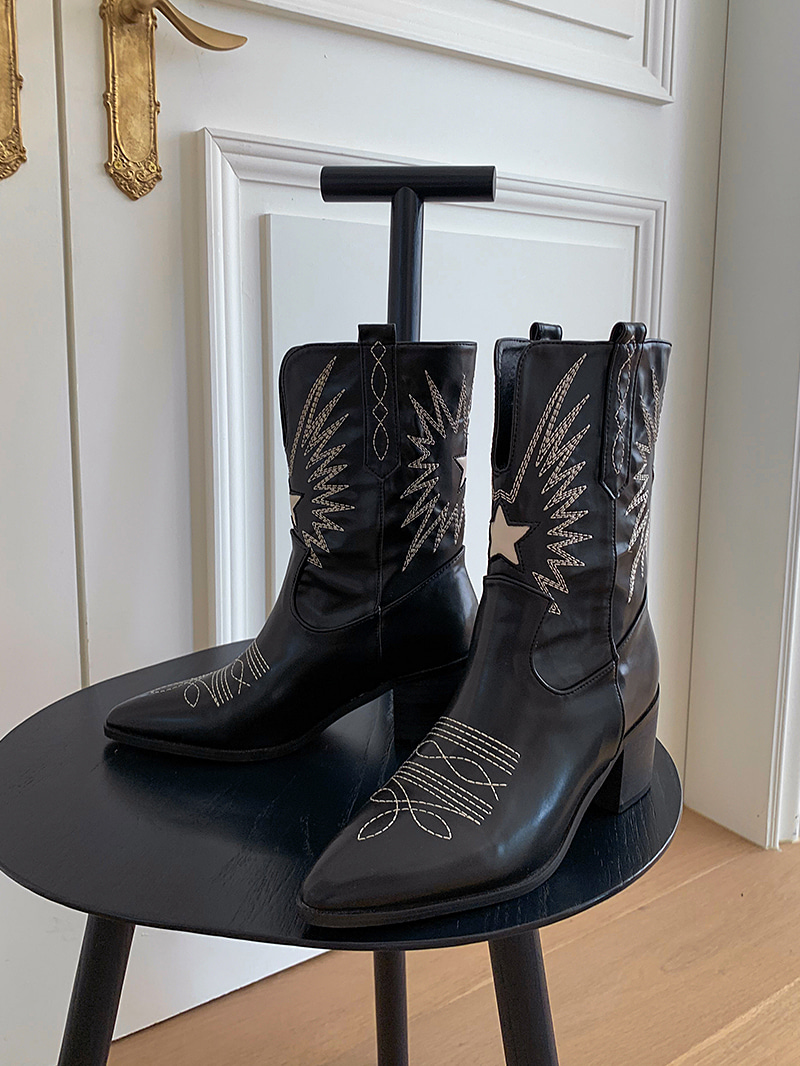 Star Western Boots-sh